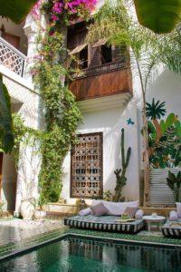 riad yasmine swimming pool marrakech