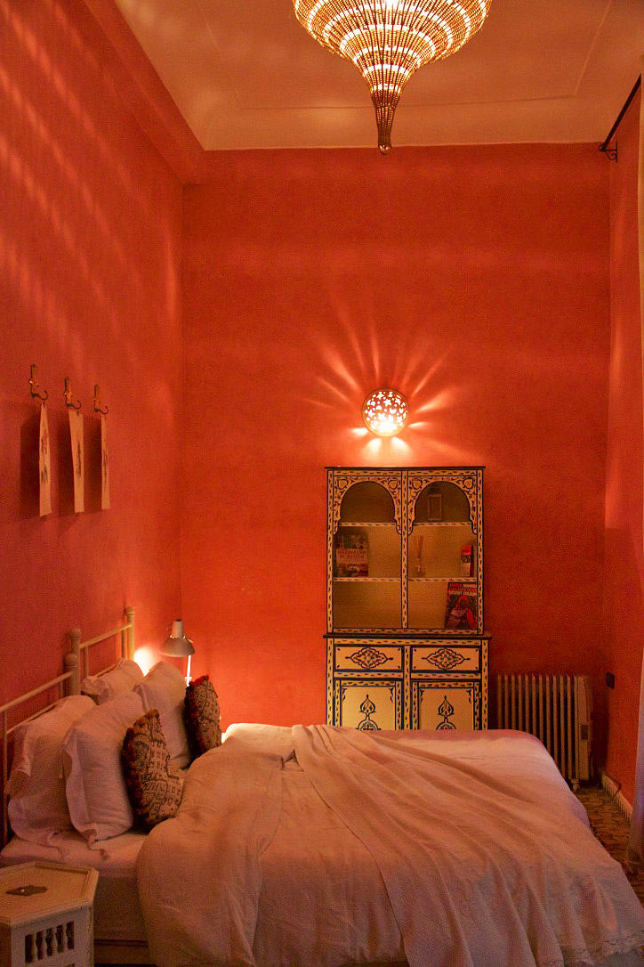 Hotel room Riad BE marrakech