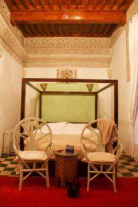 bedroom riad tizwa marrakech morocco