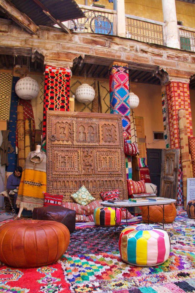 shop souk medina marrakech morocco