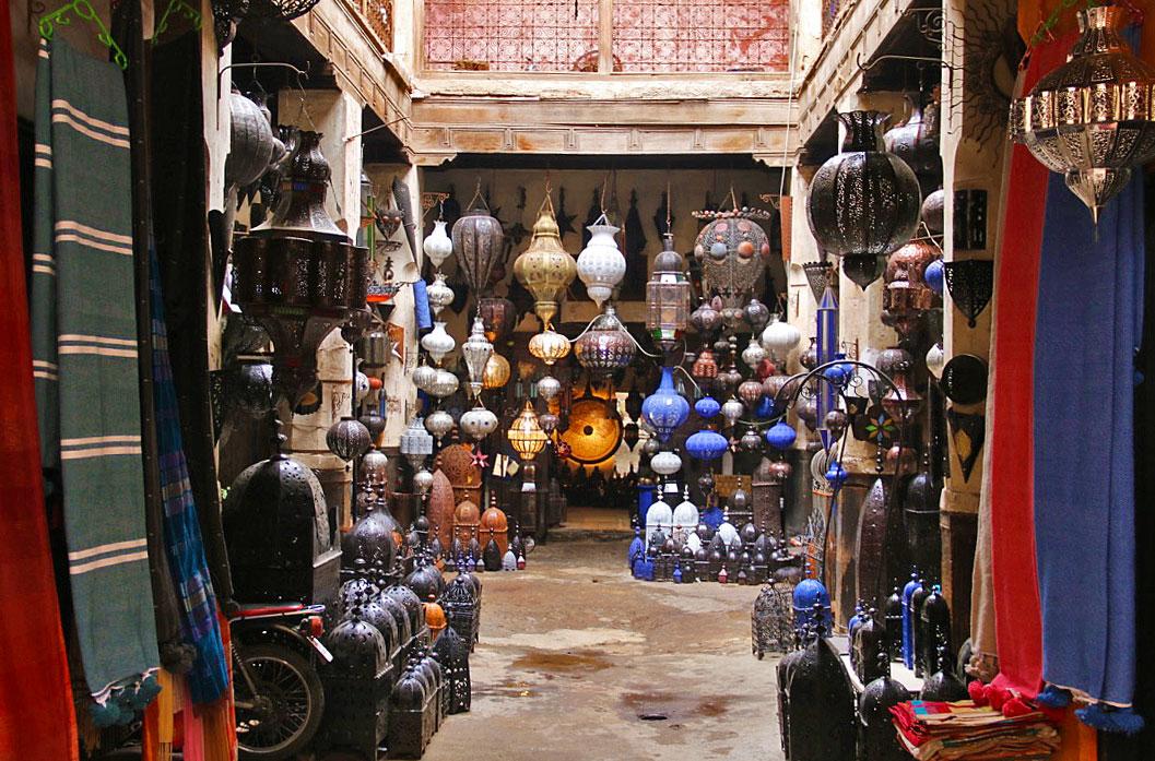 souks medina shop marrakech riads morocco