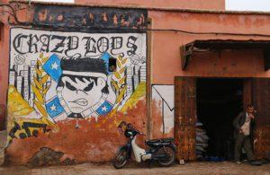 street art marrakech medina morocco