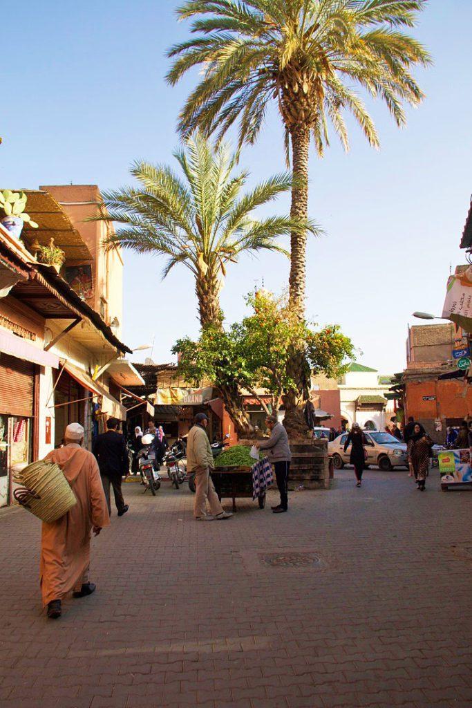streets marrakech medina