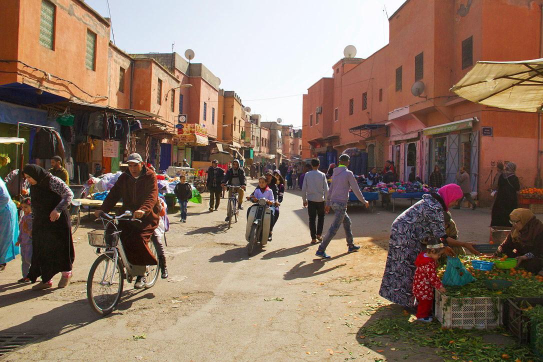 streets medina marrakech