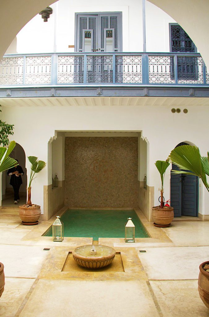 swimming pool riad adore marrakech riads morocco