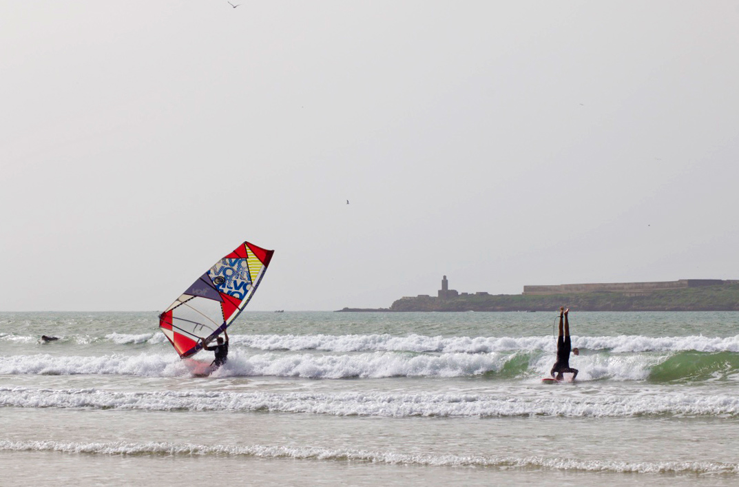 windsurfing karma surf retreat essaouira beach