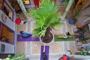 yoga lesson riad dar adul essaouira karma surf retreat