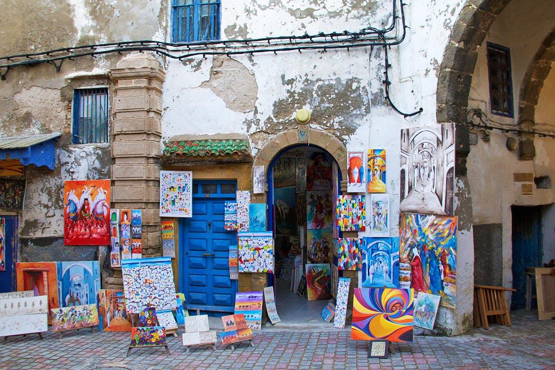 art medina souk essaouira morocco