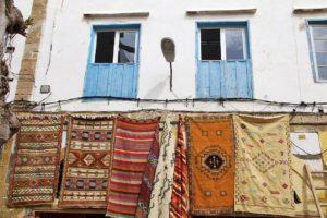 carpets souk medina essaouira morocco