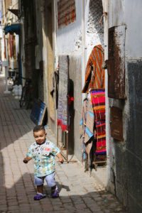 child streets medina essaouira morocco
