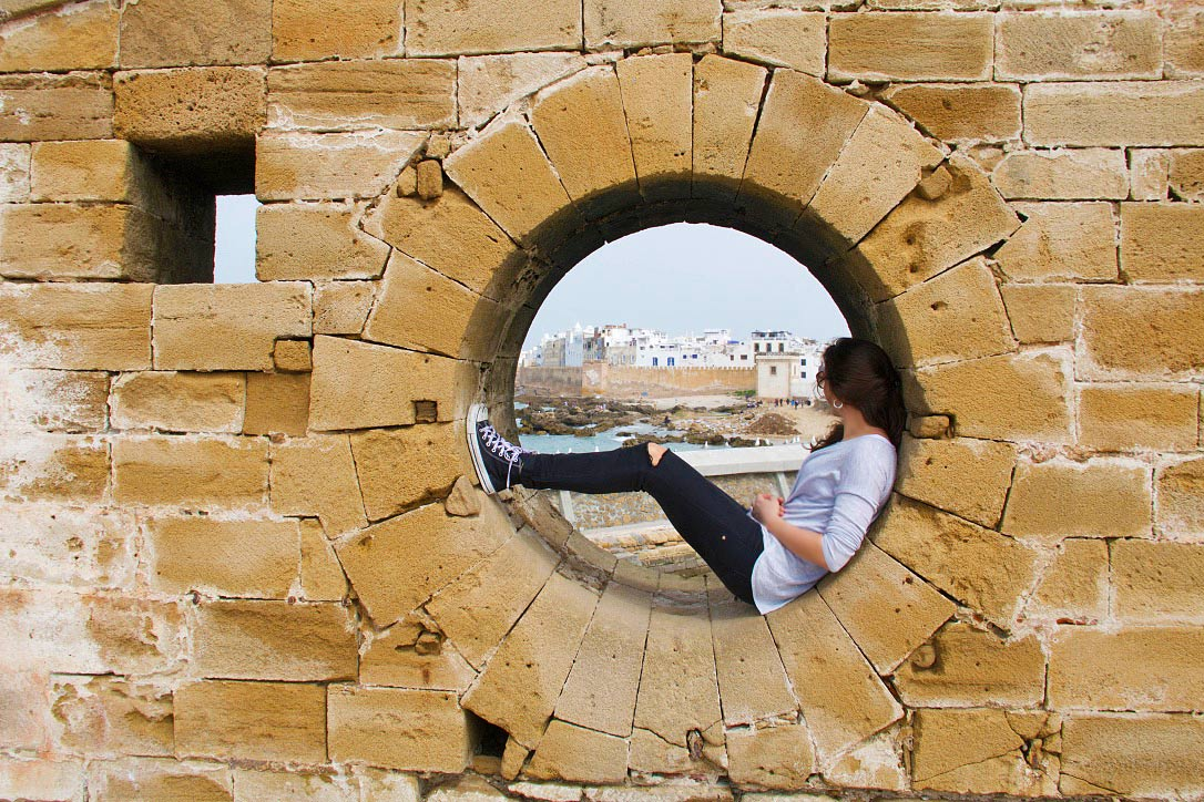 essaouira medina harbour morocco skala du port
