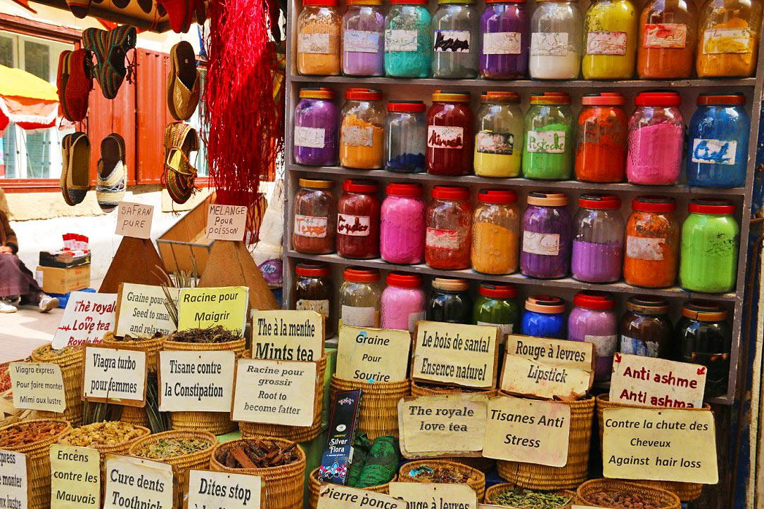 spices medina market essaouira morocco