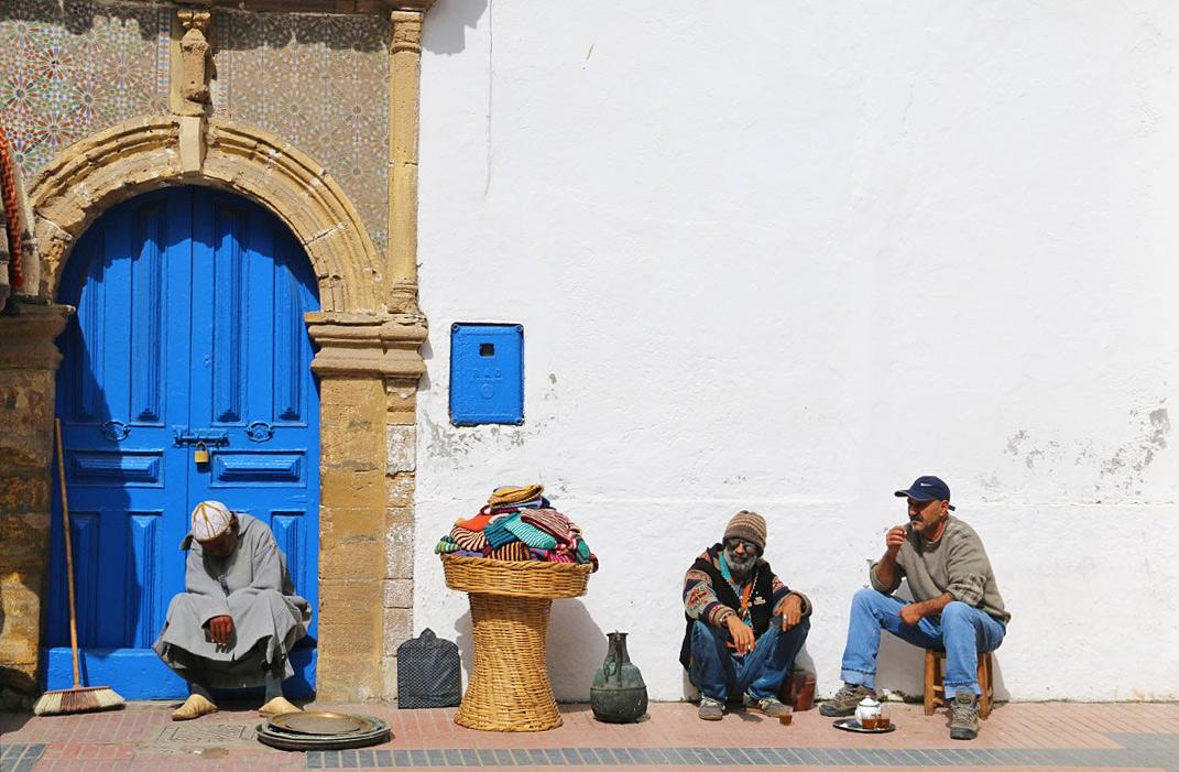street life medina essaouira morocco