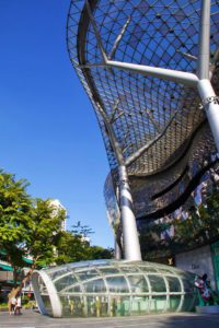 ION orchard shopping mall singapore architecture