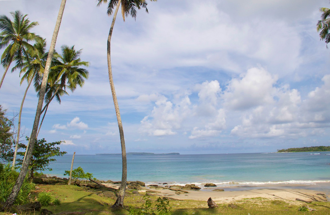 beach simeulue surf lodges ocean sumatra