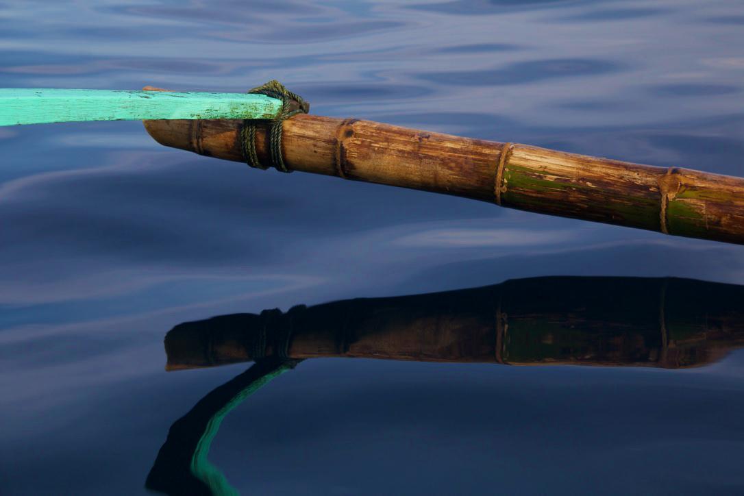 boat trip refelections ocean simeulue sumatra