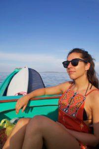 Boat trip to Teabags on Simeulue Island Sumatra