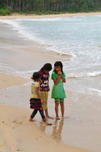 girls beach simeulue island sumatra
