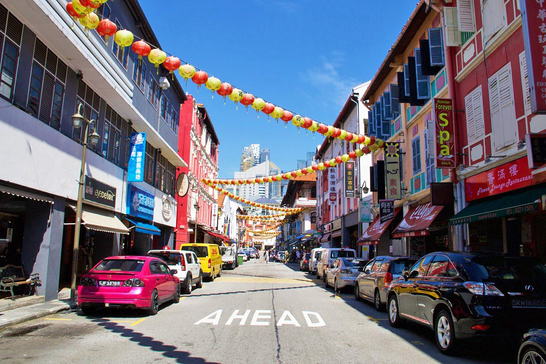 china town singapore street