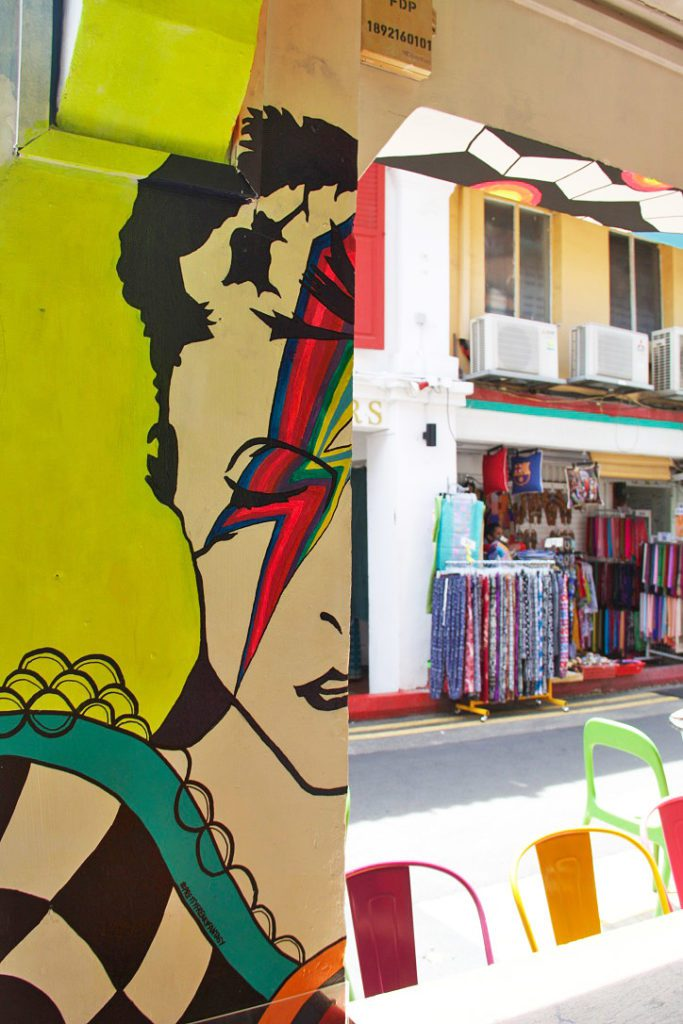 david bowie street art haji lane arab quarter singapore