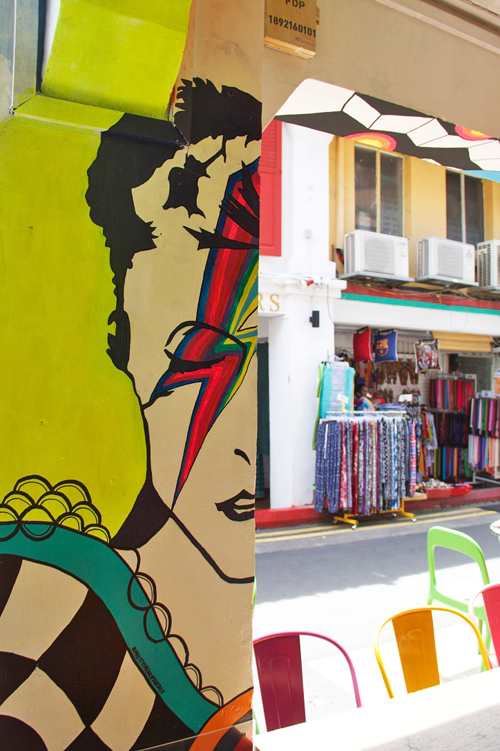 david bowie street art haji lane arab quarter singapore