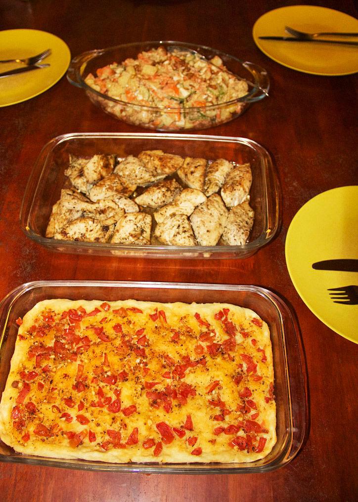 dinner simeulue surf lodges food sumatra