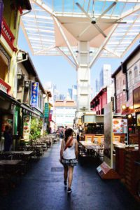 food street china town hawkers singapore