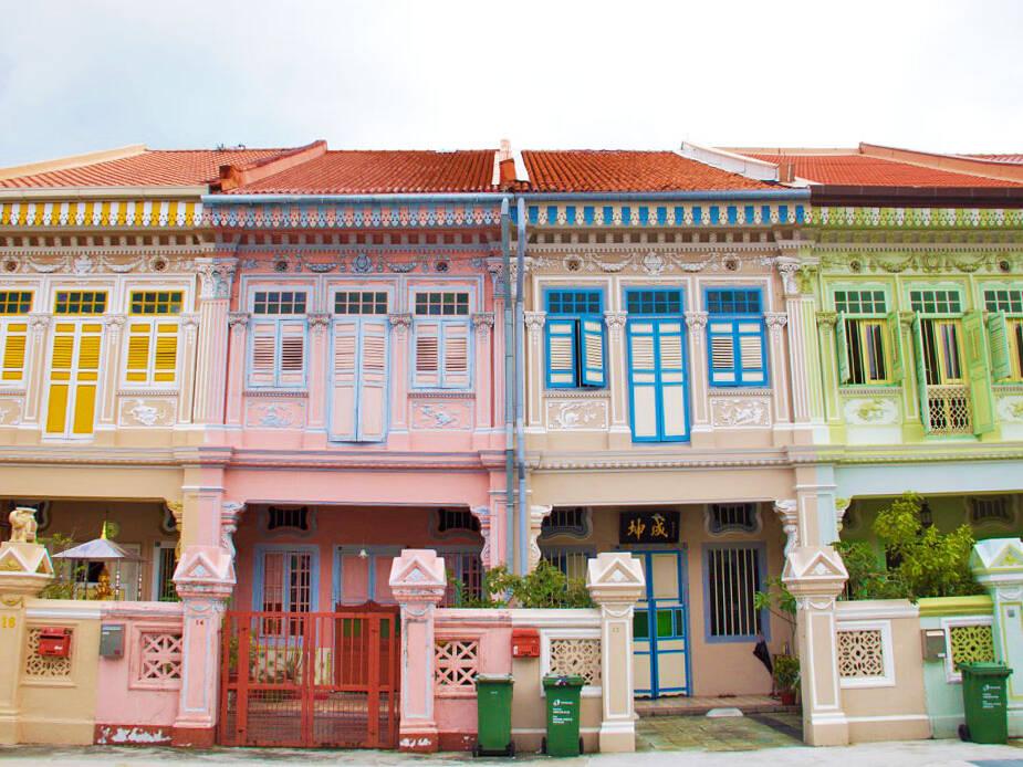 katong neighborhood peranakan houses singapore