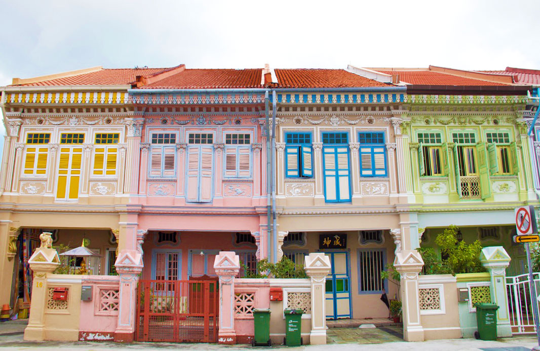 katong neighborhood peranakan houses singapore