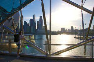 marina bay views singapore