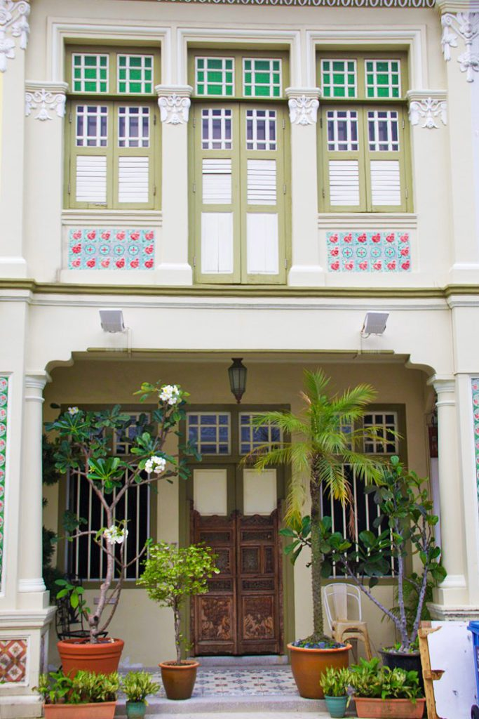 peranakan shophouse katong neighborhood singapore