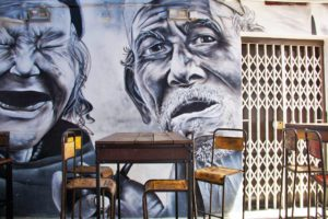 restaurant street art arab quarter haji lane singapore