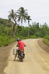 scooter simeulue surf lodges island sumatra