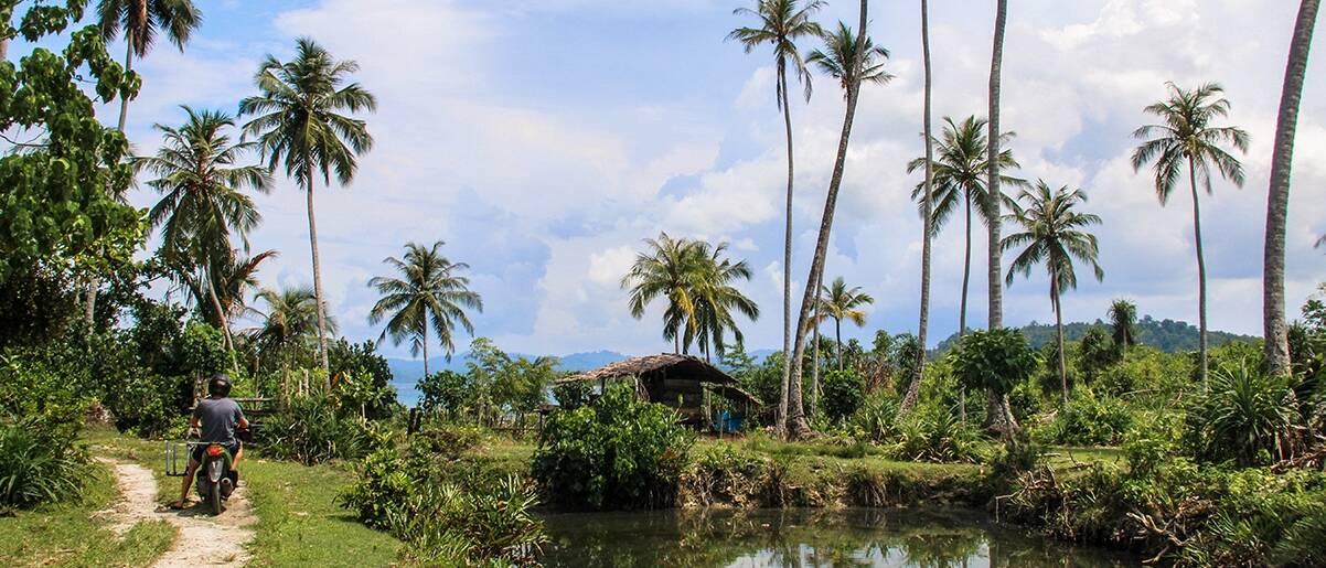 Simeulue Island Indonesia