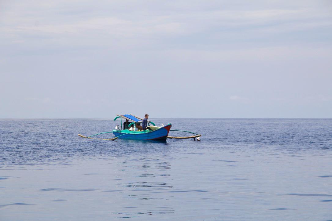 Surf boat trip on Simeulue Island Sumatra