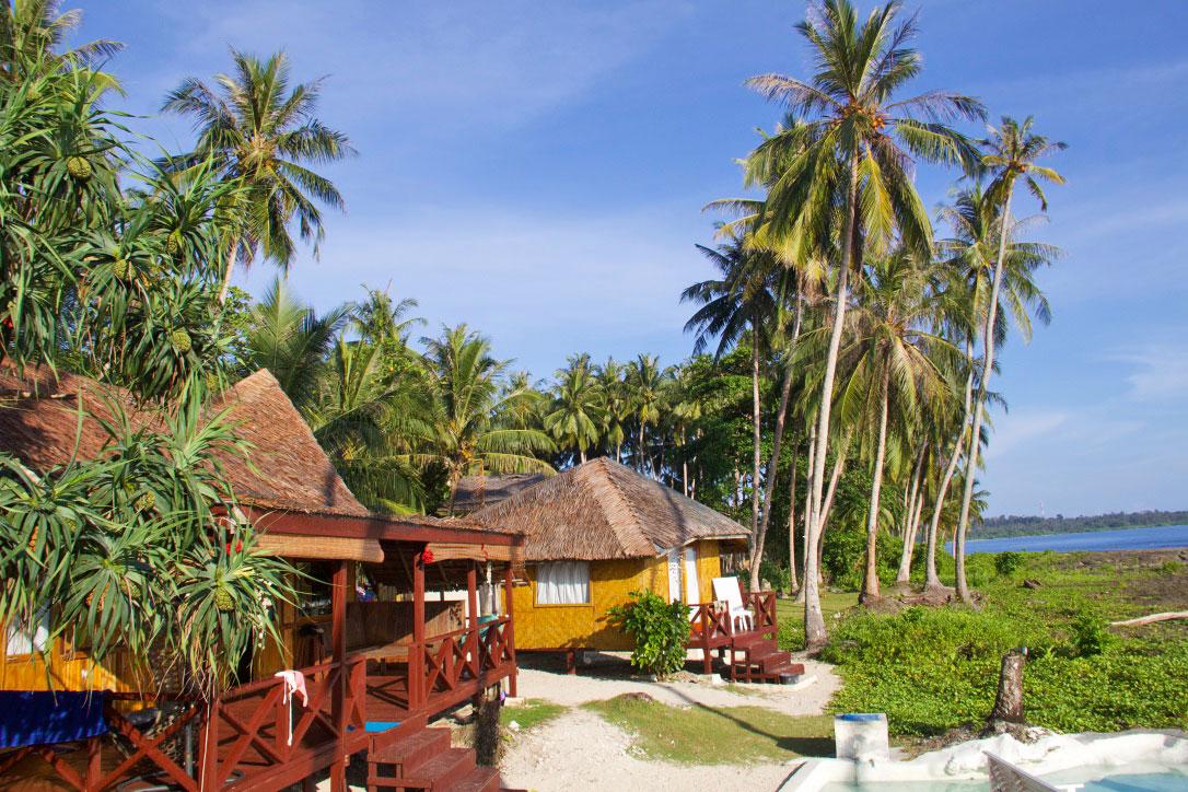 Simeulue Surf Lodges in Sumatra Indonesia