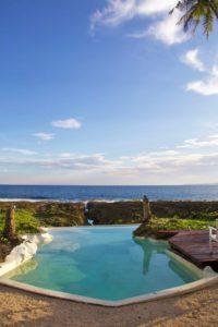 simeulue surf lodges swimming pool view sumatra