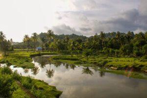 Sunset on Simeulue Island Sumatra