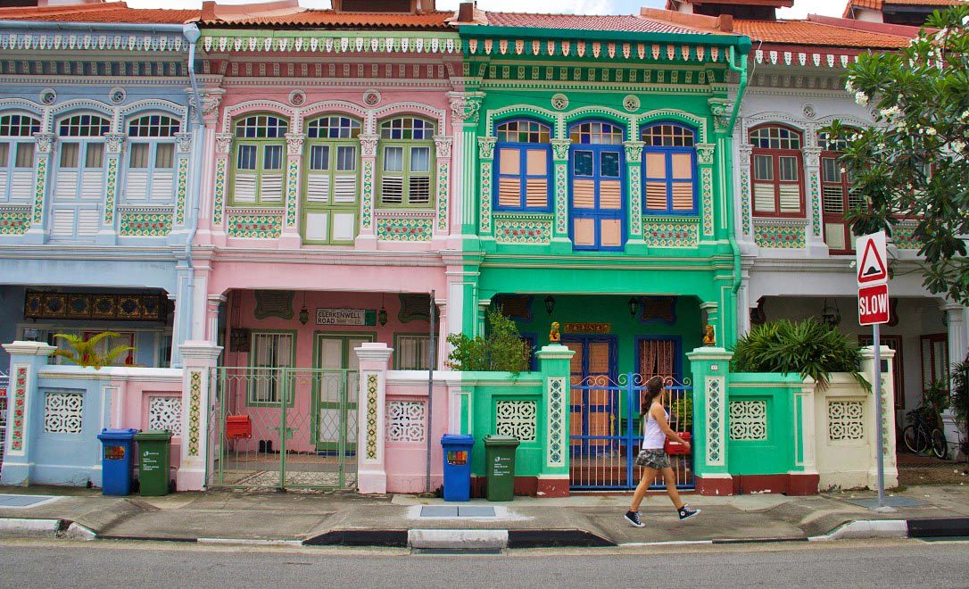 singapore katong neighborhood peranakan houses