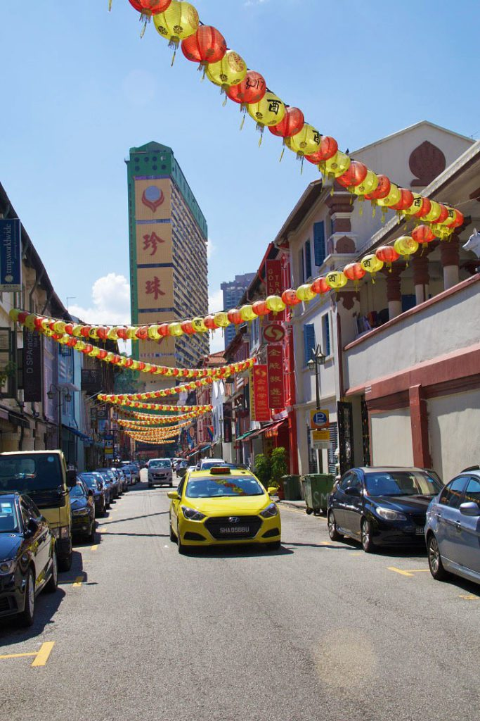 street china town singapore