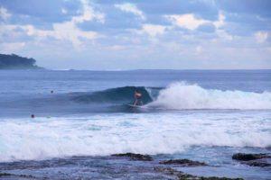 sunrise surfing dylans right waves simeulue surf lodges sumatra