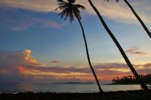sunset simeulue surf lodges view palmtrees sumatra