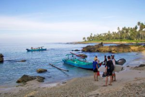 surfing boat trip simeulue surf lodges sumatra