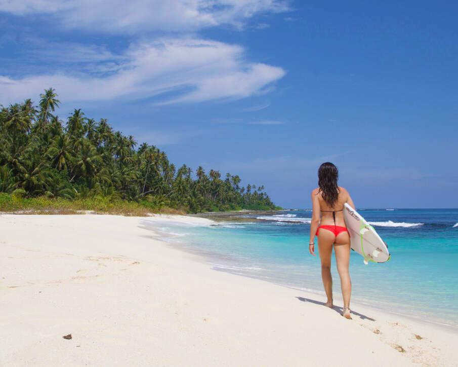 surfing simeulue surf lodges island beach sumatra