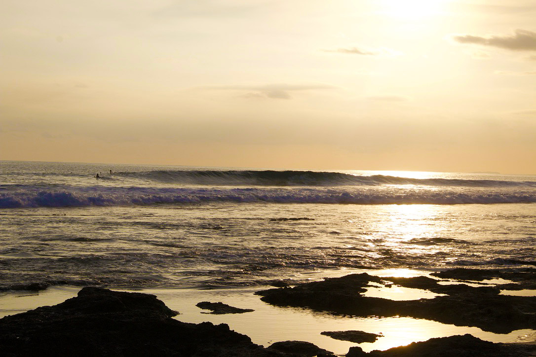 surfing the peak simeulue surf lodges island sumatra sunset
