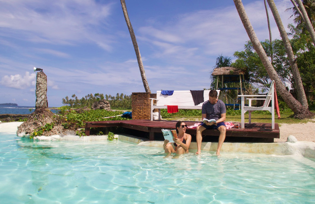 swimming pool simeulue surf lodges sumatra