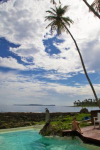 view simeulue surf lodges swimming pool sumatra