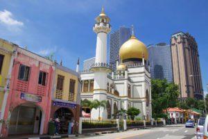 arab quarter singapore mosque architecture