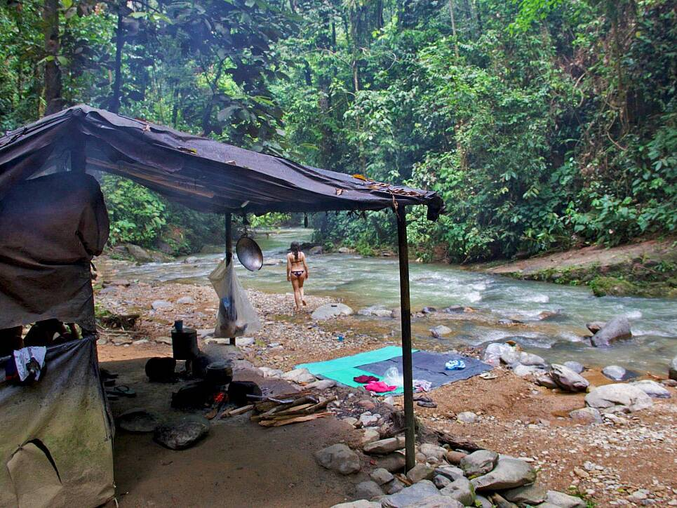 bukit lawang jungle trekking camp sumatra
