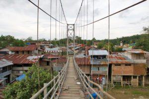 bukit lawang jungle village bridge sumatra